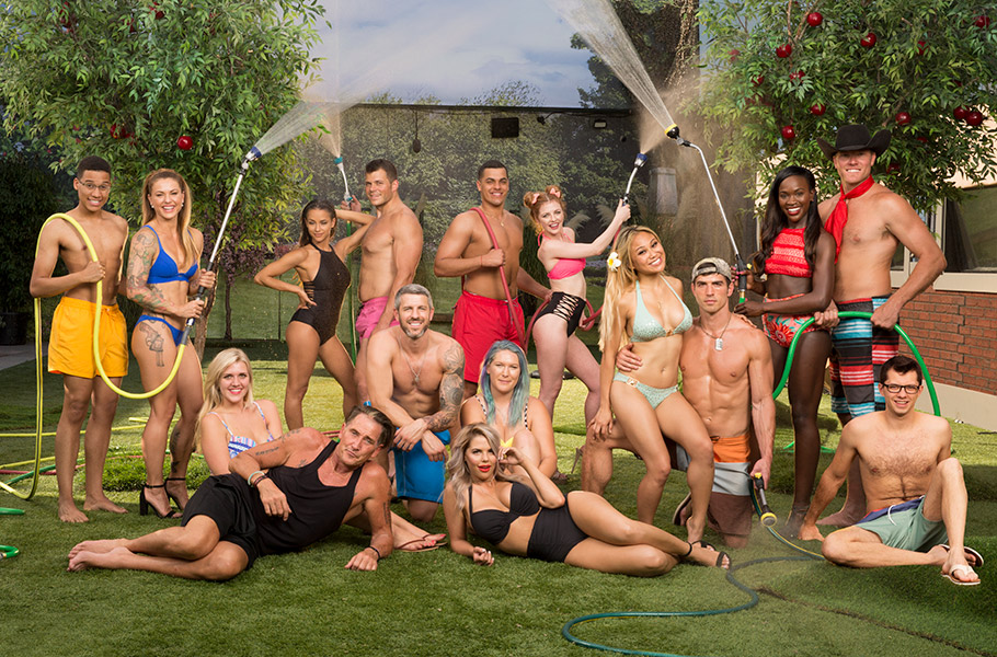 The cast of Big Brother Season 19 are summer-ready in their finest swimwear.
