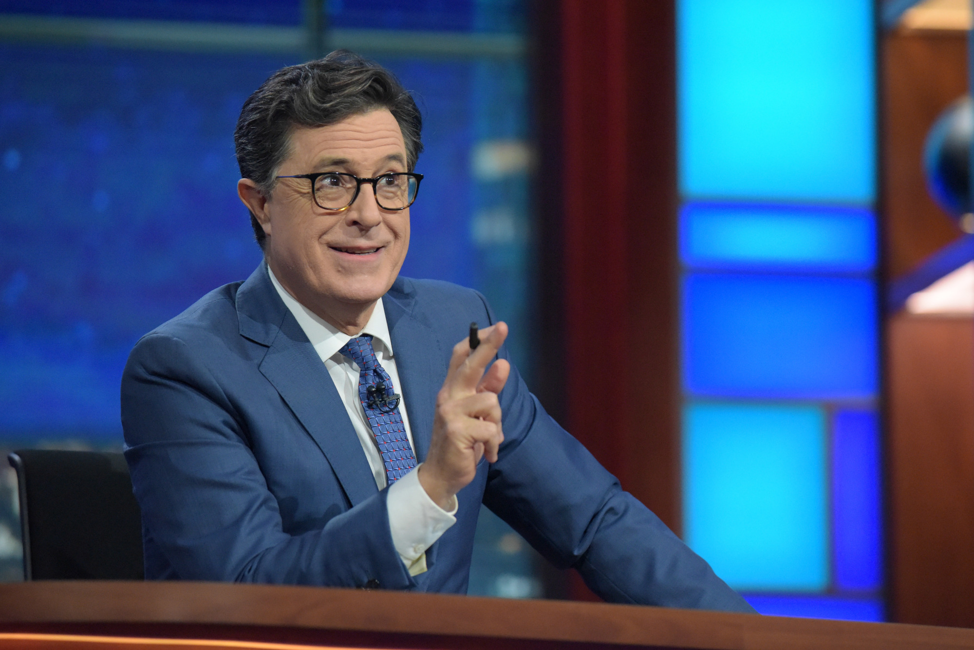 'The Late Show With Stephen Colbert' Begins Russia Week