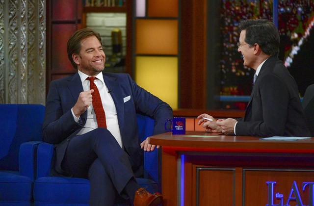 Michael Weatherly Gives Stephen Colbert the Inside Scoop on Season 2 of Bull