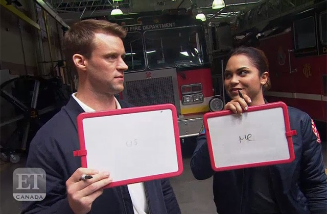 WATCH: Jesse Spencer, Monica Raymund and Nick Gehlfuss Test Their Co-Stars in The