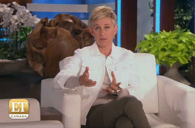 WATCH: Ellen Degeners Dishes on Her Series 'First Dates'