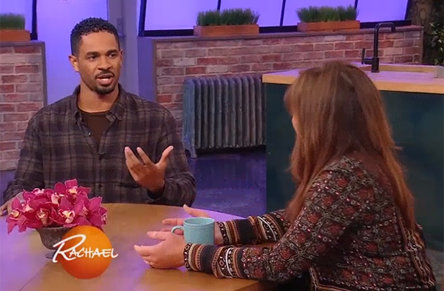 WATCH: Damon Wayans Jr. Talks Happy Together on The Rachael Ray Show