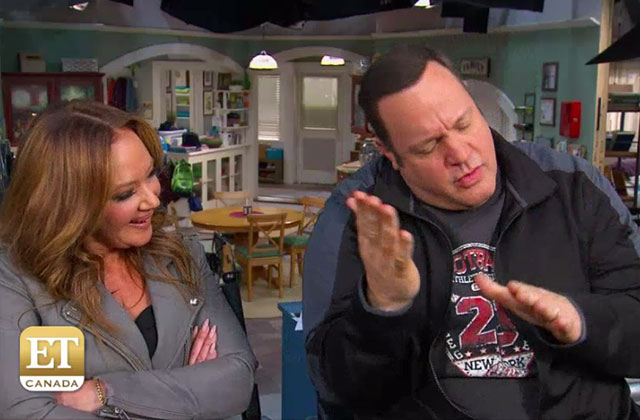 EXCLUSIVE: Leah Remini and Kevin James Dish on Working Together Again on 'Kevin Can Wait'