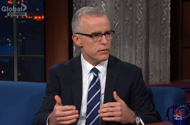 Former FBI Deputy Director Andrew McCabe Does A Deep Dive On Trump Investigation