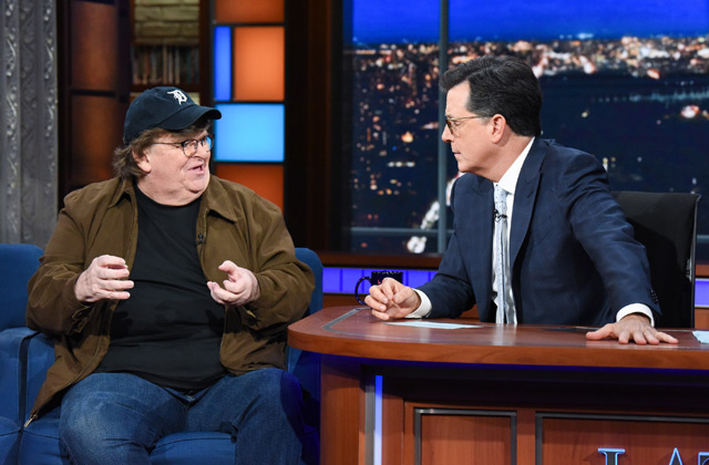 Michael Moore Makes A Case For Refusing Service To Members Of Trump's Administration