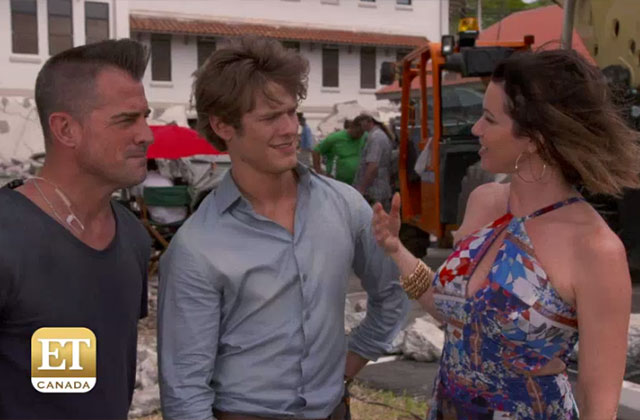 Watch: Lucas Till and George Eads get quizzed on their knowledge of Hawaiian traditions