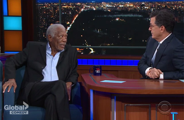 WATCH: Morgan Freeman compares Madam Secretary Washington to real Washington