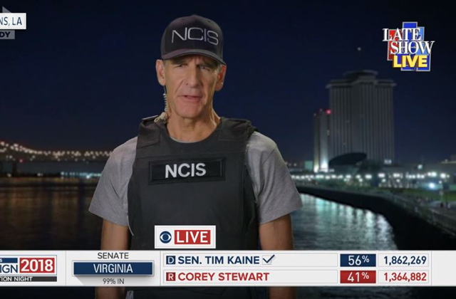Special Agent Dwayne Pride Announces Louisiana's Midterm Election Results On Colbert