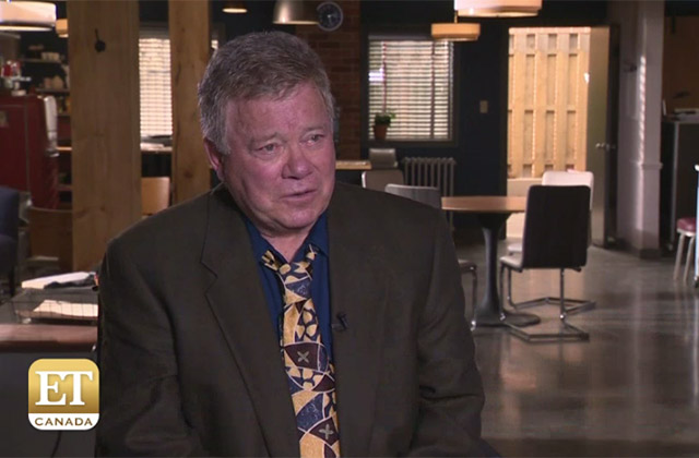 EXCLUSIVE: William Shatner Talks Guest Starring in 'Private Eyes'