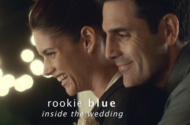 Watch: Rookie Blue Inside the Wedding