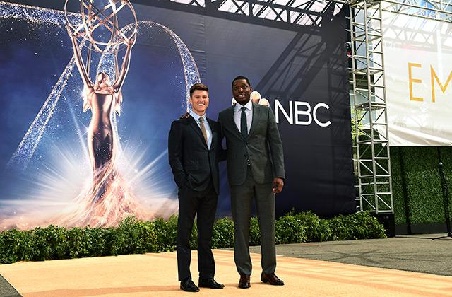 Colin Jost, Michael Che Talk Hosting The 2018 Emmys
