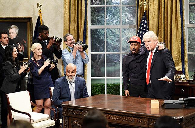 SNL: Alec Baldwin's Trump Returns for Kanye Meeting