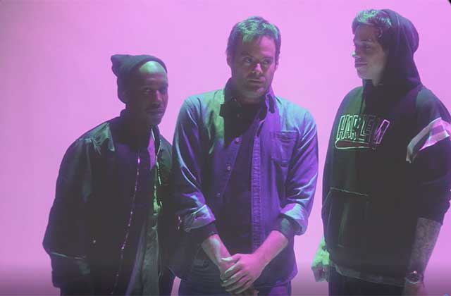 WATCH: Bill Hader Gets Creeped Out by Obsessive SNL Cast Rapping in New Promo