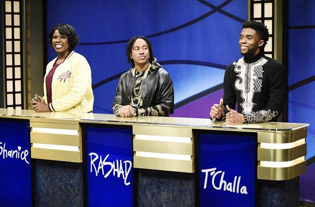 SNL Recap & Highlights: Chadwick Boseman Hosts, Reprises Black Panther's T'Challa