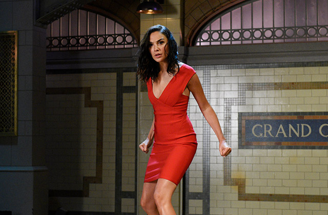 WATCH: Gal Gadot Makes the Most Epic Entrance Ever Onto the SNL Stage