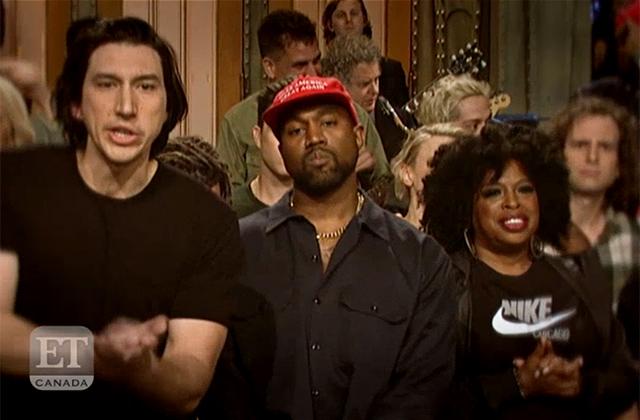 WATCH: Kanye West Gets Political on 'SNL'