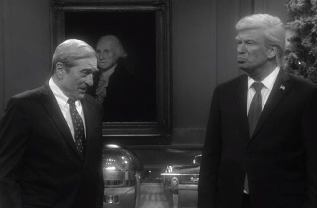 SNL: Trump and Mueller Meet Face to Face in Christmas Fantasy