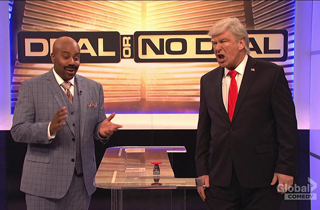 SNL: Trump Plays Deal or No Deal: Government Shutdown Edition