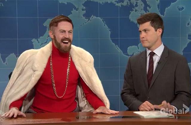WATCH: UFC Champ Conor McGregor Visits SNL Weekend Update