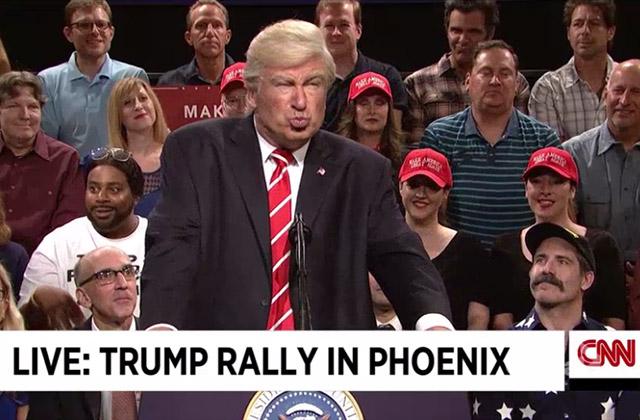 WATCH: Alec Baldwin Returns as Trump in SNL Weekend Update - Phoenix Rally Cold Open