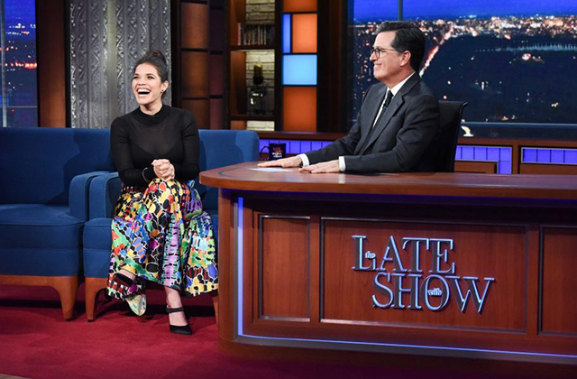 America Ferrera Talks Superstore Season 4 on The Late Show with Stephen Colbert