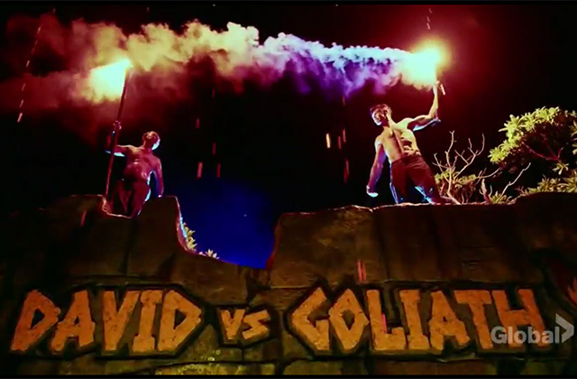 Watch a Sneak Peek of Survivor Season 37: David vs Goliath