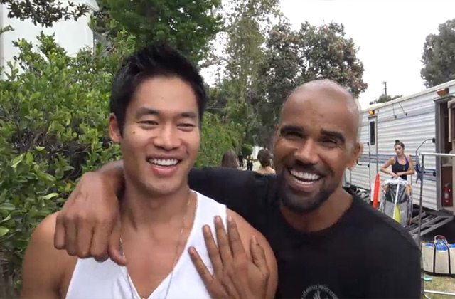 WATCH: Get a Glimpse Behind the Scenes of 'S.W.A.T.' From Shemar Moore