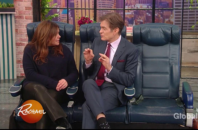 WATCH: Dr. Oz's Airplane Travel Tips