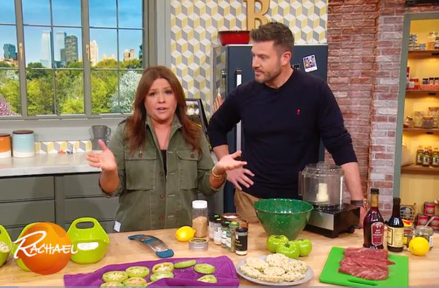 Learn To Make Fried Green Tomatoes With Rachael & Jesse Palmer