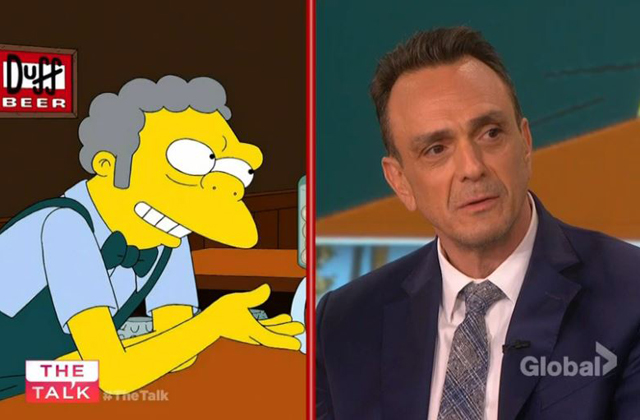 Watch: Hank Azaria does his Simpson voices and reveals the inspiration behind the voice for Moe The Bartender