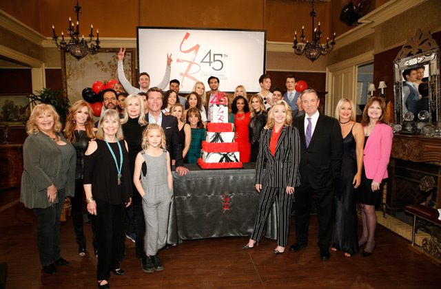 The Y&R Cast Have A 45th Anniversary Party! See Photos & Highlights