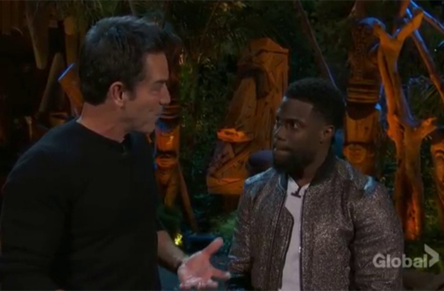 WATCH: Kevin Hart Dishes on New Series TKO to Jeff Probst During Survivor 36 Finale