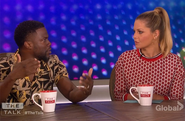 WATCH: Kevin Hart Gives the Scoop on His New Series 'TKO: Total Knock Out' on 'The Talk'