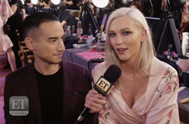 Karlie Kloss Shares Empowering Message Backstage