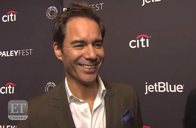 WATCH: Eric McCormack Gives an Update on Guest Star PM Justin Trudeau