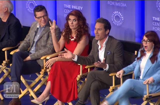 WATCH: The Cast of Will & Grace Announce Series Has Been Renewed for Third Season at PaleyFest