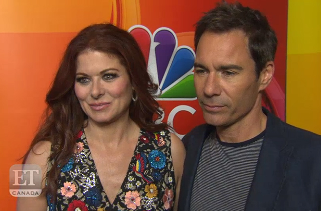 Debra Messing and Eric McCormack Talk 'Will & Grace' Renewal