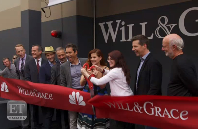 'Will & Grace' Production Kick-Off