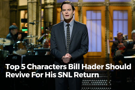 Top 5 Characters Bill Hader Should Revive For His SNL Return