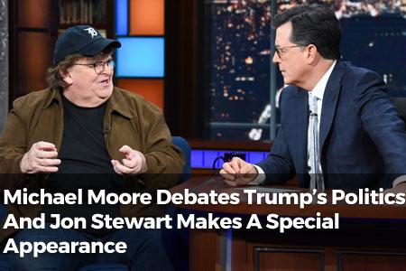 Michael Moore Debates Trump's Politics