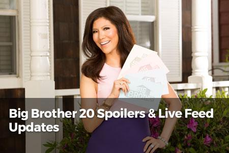 Big Brother Season 20 Live Feed & Spoilers