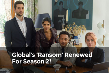 Global's 'Ransom' Renewed For Season 2!