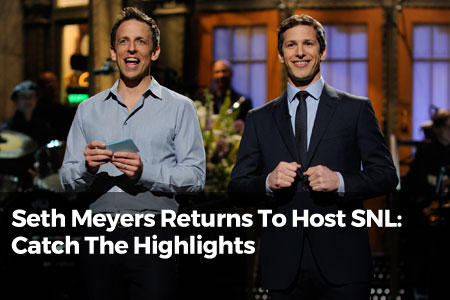 Seth Meyers Returns