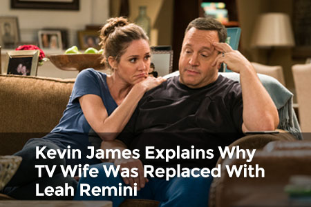 Kevin James Explains Why TV Wife Was Replaced With Leah Remini