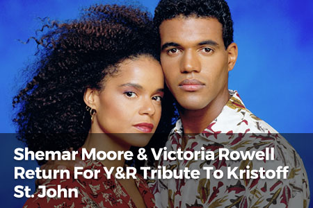 Shemar Moore & Victoria Rowell Return For Y&R Tribute To Kristoff St. John