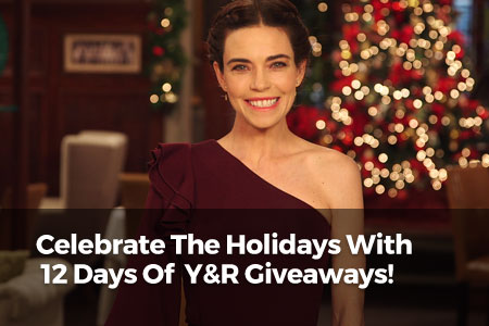 Celebrate The Holidays With 12 Days of Y&R Giveaways!