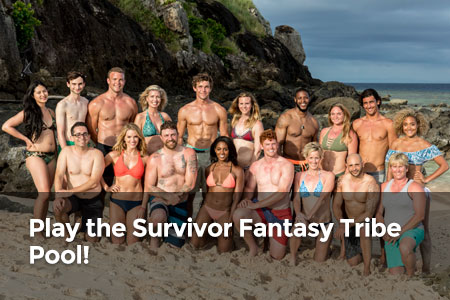 Play the Survivor Fantasy Tribe Pool!