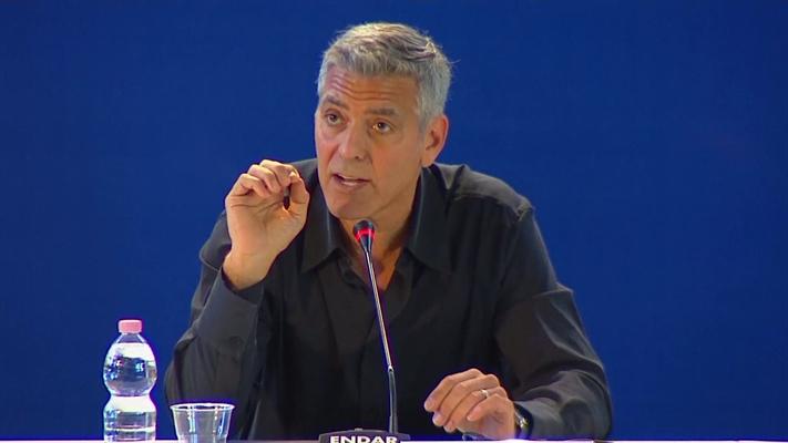 Clooney and damon talk suburbicon for Domon canada