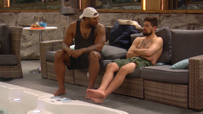 Mark Seeks Reassurance From Anthony On 'Big Brother Canada'