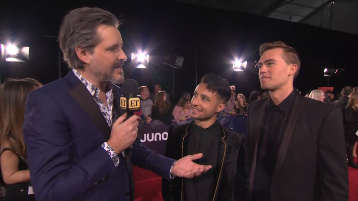 Loud Luxury Tease Their JUNOs Performance On The Red Carpet